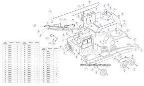 Woodworking Project Plans For Free by Wooden Truck Crane Model Plan