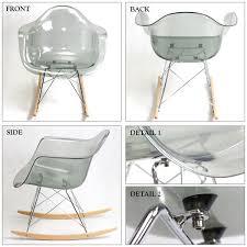 Clear Eames Chair Otakaratuuhan Rakuten Global Market Eames Rocking Chair Design