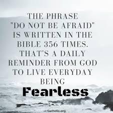Daily Bible Meme - your daily inspirational meme do not be afraid socials