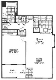 apartments in wheeling il village green at arlington club floor plan a one bedroom one bath with 700 sq ft