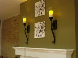 decorative wall lights fireplace candle how to decorative wall