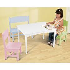 Kidkraft Nantucket 2 Shelf Bookcase Kidkraft Nantucket Pastel Table And Chair Set 26101 Hayneedle