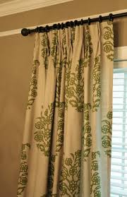 Pinch Pleated Lined Drapes How To Add Pinch Pleats To Store Bought Rod Pocket Drapes Looks