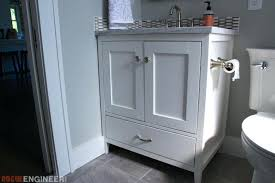 do it yourself bathroom vanity diy bathroom vanity mirror plans rogue engineer 7 487 modern do it