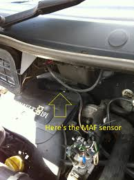 how to clean change maf sensor on trafic vivaro u0026 primastar