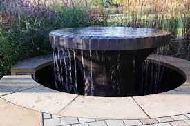 modern water feature modern outdoor water feature contemporary homescontemporary homes