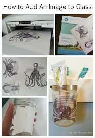 how to add an image to glass tutorials glass and craft