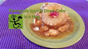 pineapple upside down cake in a mug youtube