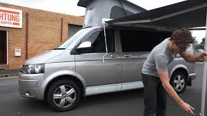 Vw T5 Campervan Awnings Achtung Camper Campervan How To Video Awning Youtube