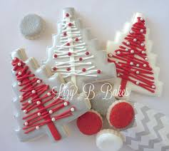 lizy b homespun christmas tree cookie