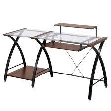 desk office depot z line designs cherry desk zl4053 3dbu the home depot