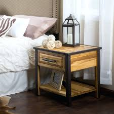 West Elm Bedside Table Side Table Wrought Iron Bedroom Table Lamps Wrought Iron Bedside