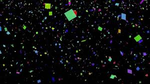classic christmas motion background animation perfecty loops looping background of confetti for new year s free worship