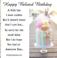 happy belated birthday ecard easter pinterest free birthday