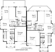 2 Story House Plans With Master On Main Floor 8 Best Duplex Images On Pinterest Duplex House Plans Floor