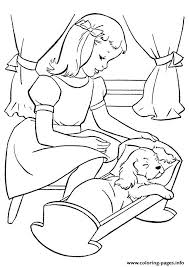 putting pup sleep puppy coloring pages printable