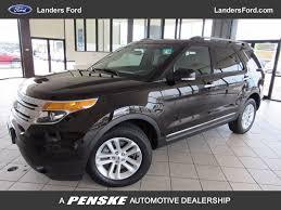 Ford Explorer Dashboard - 2014 used ford explorer fwd 4dr xlt at landers chevrolet serving