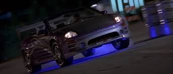 mitsubishi eclipse fast and furious 2003 2 fast 2 furious 2001 mitsubishi eclipse spyder gts 3g
