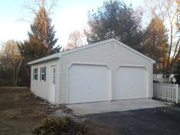 Detached 2 Car Garage Garage Design Motivationalwords Amish Garage Garages Amish
