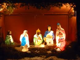 nativity sets outdoor plastic lighted outdoor designs