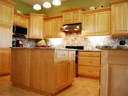 kitchen cabinet fabulous interior home kitchen showing honey