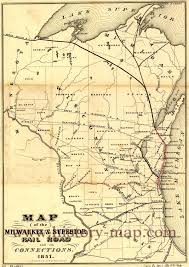 Map Of Milwaukee Wisconsin by U0026 Superior Railroad