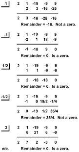 sparknotes algebra ii polynomials the rational zeros theorem