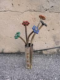 Recycled Garden Art Ideas - best 25 recycled garden art ideas on pinterest bottle top