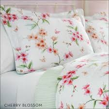 Cherry Blossom Comforter Sets Bedroom Marvelous Pink And Blue Bedding Light Pink Twin