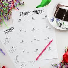 birthday calendar gallery craftgawker