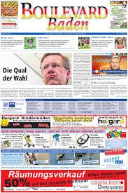Tattoo Wie Lange Nicht Baden Boulevard Baden Ausgabe Karlsruhe Stadt 04 07 2010 By Röser