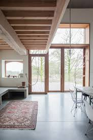 courtyard home old farmhouse revived into modern courtyard home and studio curbed