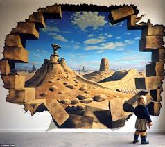 Murals For Sale by 3d Hole Murals 3d Cake Image