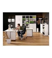cassettiera da scrivania da ufficio con ruote e 4 cassetti tvilum