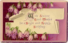 virtual vintage birthday e cards