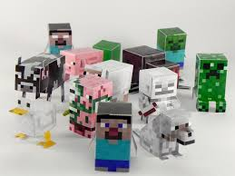 awesome minecraft paper crafts any of your kids obsessed