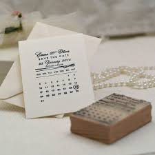 calendar save the date personalised calendar save the date st by pretty rubber sts