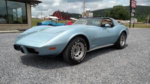77 corvette l82 1977 light blue corvette l82 4spd for sale