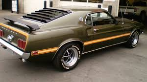 Black 1969 Mustang Fastback 1969 Ford Mustang Mach 1 Fastback F213 Anaheim 2012