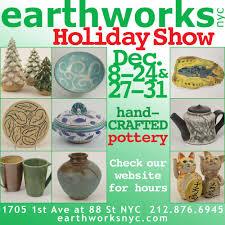 earthworks pottery art classes 1705 1st ave yorkville new