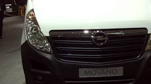 opel movano 2015 opel movano panel van l2h2 exterior and interior youtube