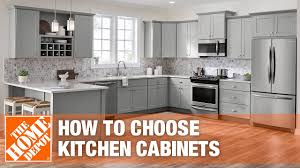 standard height of kitchen base cabinets best kitchen cabinets for your home the home depot
