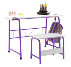 kids craft table with bench deal
