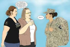 Military Wives Meme - what are your feelings on the stereotypical dependapotamus
