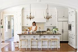 kitchens with white cabinets pictures crisp classic white kitchen cabinets southern living