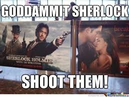 Funny Sherlock Memes - sherlock holmes my hero by lolian meme center