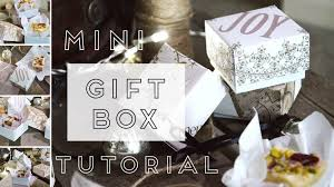 craft tutorial recycled christmas card gift boxes youtube