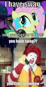 Macdonalds Meme - 285700 exploitable meme fluttershy image macro mcdonalds