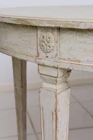 scandinavian swedish antique painted dining table zweedse stijl