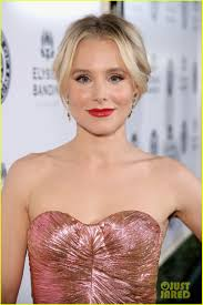 Kristen Bell by Amber Heard Jaime King U0026 Kristen Bell Glam Up For A Great Cause